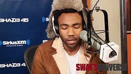 That time Childish Gambino held a convo while freestyling