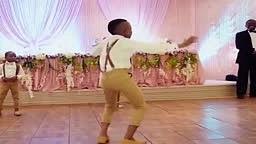 Lil Kid goes Viral Dancing at African Wedding