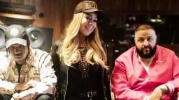 MARIAH CAREY CRASHES DJ KHALED & TRAVIS SCOTT STUDIO SESSION TO MEET HIM IN PERSON
