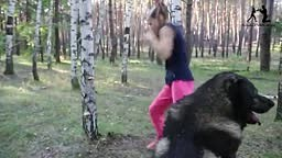 9 year old girl Evnika Sadvakasov hits HARD punches Wholes in Doors and even Trees