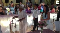 106-Yr-Old Woman Marries 66 year old Boy TOy in NURSING HOME!!