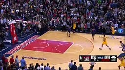 Lebron James Buzzer Beater Cavs vs Wizards
