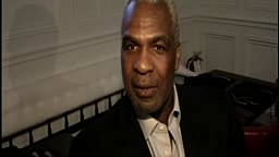 Former NBA star Charles Oakley speaks after being arrested during Knicks game at Madison Square Garden