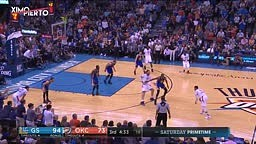 Russell Westbrook & Kevin Durant Trash Talk Warriors vs Thunder