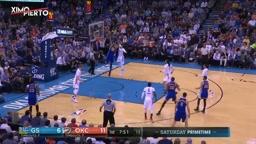 Kevin Durant's return to OKC Golden State Warriors vs Oklahoma City Thunder (Full Highlights)