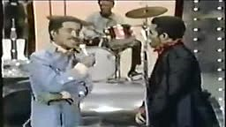 James Brown and Sammy Davis Jr Dancing at a Live Event