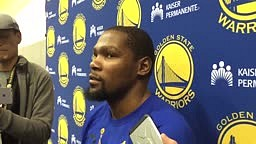 Kevin Durant comes to JaVale McGee's defense vs Shaq: