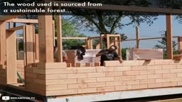 Are Legos the FUTURE of our HOMES? Houses built with no nails screws or glue