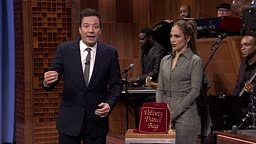 j. Lo Almost BREAKS HER NECK in Dance Battle Against Jimmy Fallon