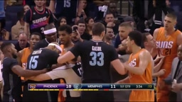 Vince Carter EJECTED AFTER DIRTY PLAY ON Devin Booker