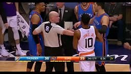 Russell Westbrook FIGHTS Derrick Jones Jr, FULL VIDEO