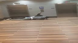 UH OH! Man catches his wife in hotel with another man!