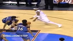 Allen Iverson SNATCHED Many bodies with his Crazy Crossover