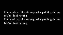 Biggie The Notorious B.I.G. (ft. Eminem) - Dead Wrong (Lyrics)