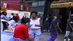 Biggie Smalls Live From Bedford-Stuyvesant Block Party [Brooklyn, NY] 1991