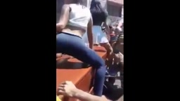 WATCH Girls TWERK & SHAKE Cakes On Dead Man's Coffin
