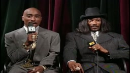 Tupac and Snoop Dogg Interview after Mtv Vmas