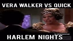Harlem Knights-Vera Walker vs Quick