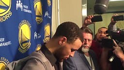Steph Curry on the late half 3 and scuffle with Christon/Westbrook: Much ado about nothing
