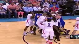 Warriors Steph Curry ALMOST FIGHTS with Russell Westbrook and Okc Thunder G Christion
