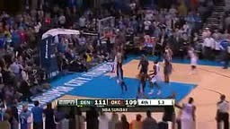 Kevin Durant Scores 51 pts Okc Thunder vs Denver Nuggets