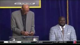 Kareem Abdul-Jabbar Trolls Kobe Bryant at Shaq Ceremony