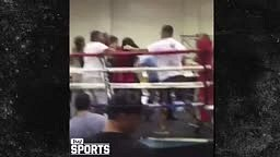 CRAZY FIGHT Breaks out at Golden Gloves Boxing Event