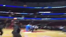 Lebron James Making fun of Lonzo Ball Shot In Warm ups