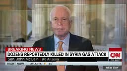John McCain Rides On Donald Trump Being Lenient On Syria Gas Attack