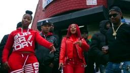 Cardi B 'Red Barz' Video