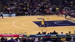 Lance Stephenson pisses off the Raptors by taking layup with 4 secs left