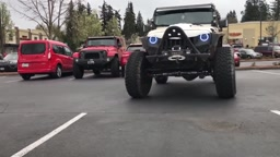 PARKING REVENGE! 2 Jeeps BLOCK Benz Driver Who Takes 2 Parking Spots
