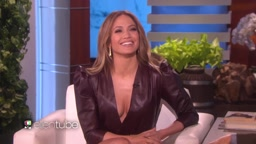 J.Lo Reveals She Made The First Move On A-Rod  on Ellen