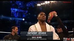 Joshua vs Klitschko Full Fight HD