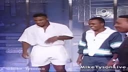 Young Mike Tyson and Sugar Ray Leonard SURPRISE Muhammad Ali on the Arsenio Hall Show
