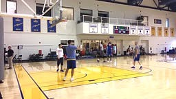 Stephen Curry REFUSES TO MISS in SHOOT OUT with Kevin Durant!!