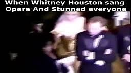 When Whitney Houston stunned Pavarotti... (Rainforest Benefit - 1994)