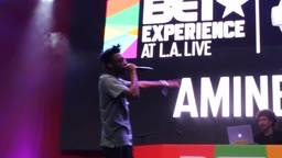 Amine Bet Awards Experience Performance 2017