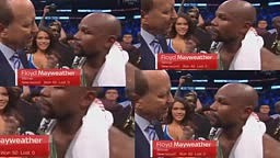 Floyd Mayweather Post Fight Interview MCGREGOR VS MAYWEATHER