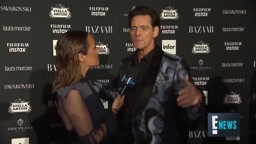 Jim Carrey DISSES Ny Fashion Week Event and says we are not really on earth!