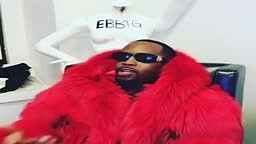 Safaree FREESTYLES in different Mink Coats