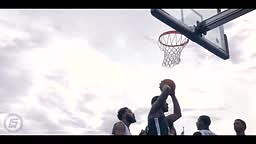 Aquille Carr SHOWS OUT in the Brooklyn Mecca of Basketball CONEY ISLAND!