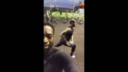 Dwyane Wade & LeBron James have an intense workout together