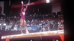Gabby Douglas Gold Medal Routine PT 1