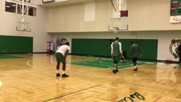 Kyrie Irving goes SAVAGE on New Celtics teammates 1 v 1