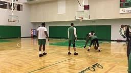 Kyrie Irving goes SAVAGE on New Celtics teammates 1 v 1