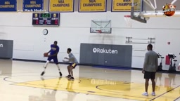 Kevin Durant 1 v1 vs klay thompson,patrick mccaw,nick young