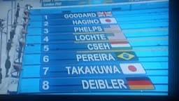 Michael Phelps wins Gold Beats Lochte in 200 Meter IM
