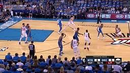 Carmelo Anthony Paul George 1st game with okc New York Knicks vs OKC Thunder   Full Game Highlights   October 19, 2017