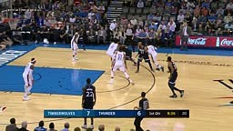 Andrew Wiggins Buzzer Beater after Melo Go ahead 3 Minnesota Timberwolves vs OKC Thunder Full Game Highlights